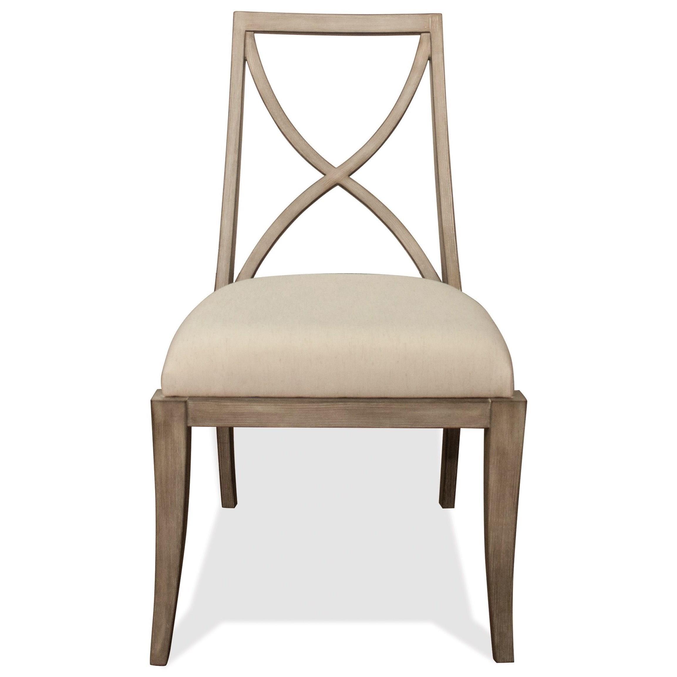 Riverside Furniture SophieX Back Upholstered Side Chair ...