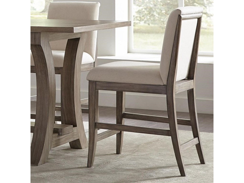 Riverside furniture sophieupholstered counter stool