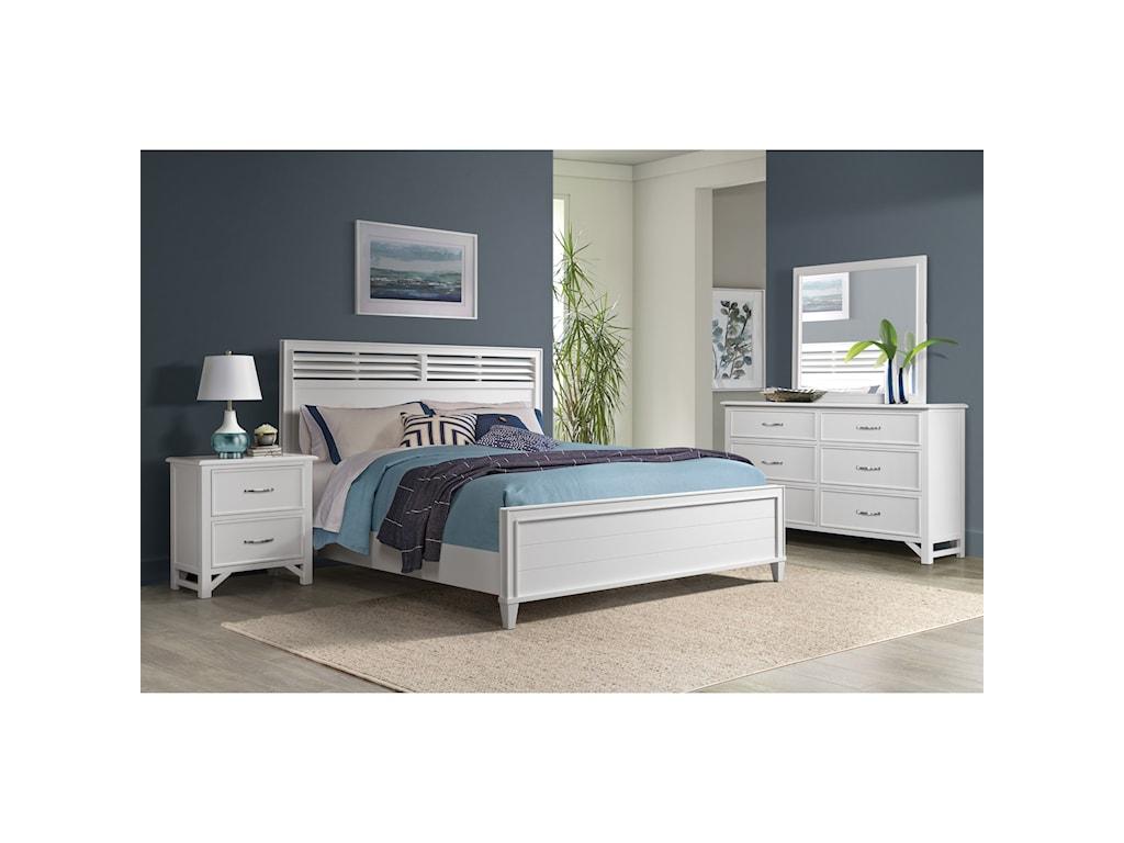 Riverside Furniture Talford Cotton2-Drawer Nightstand