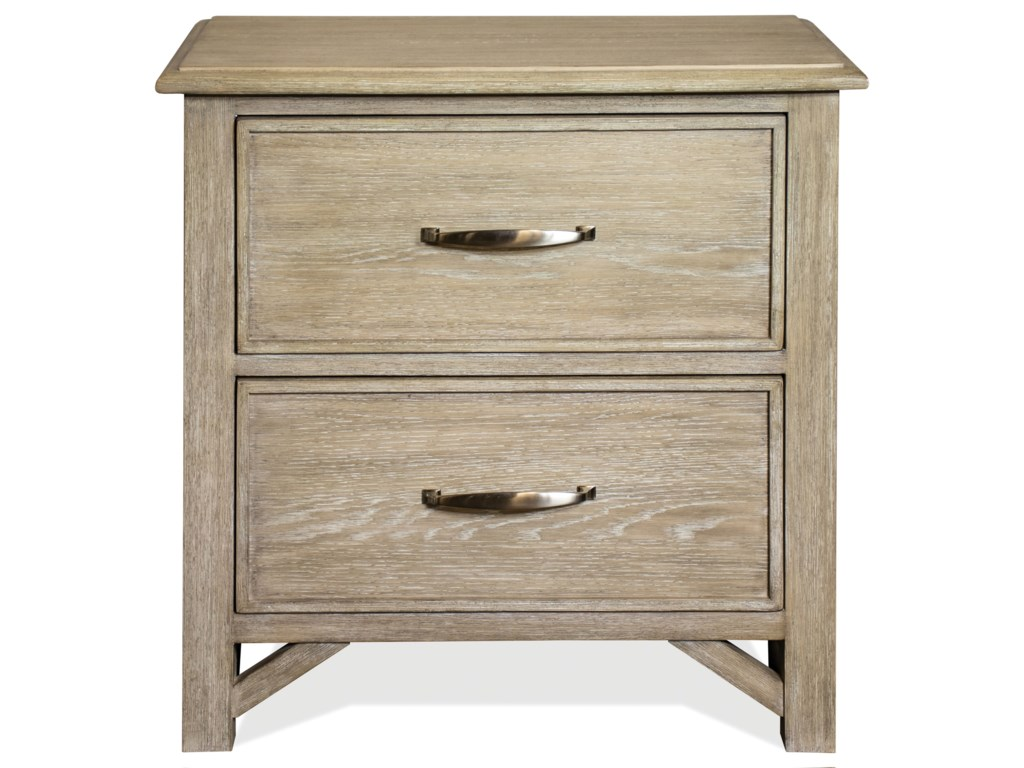 Riverside Furniture Talford Natural2-Drawer Nightstand