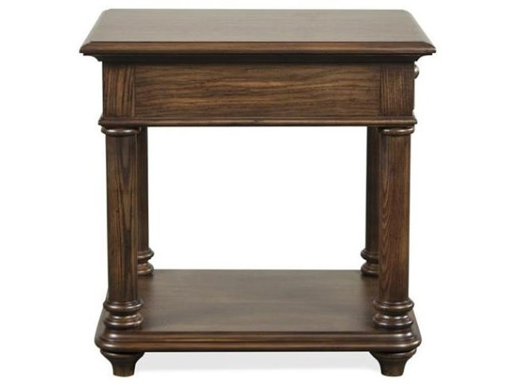 Riverside Furniture TeganRectangular End Table