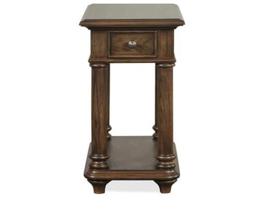 Riverside Furniture TeganChairside Table