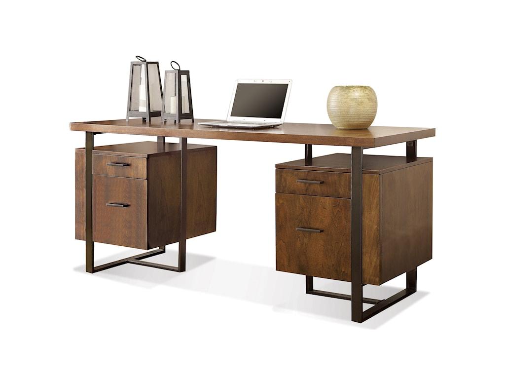 Riverside Furniture Terra Vistadouble Pedestal Desk
