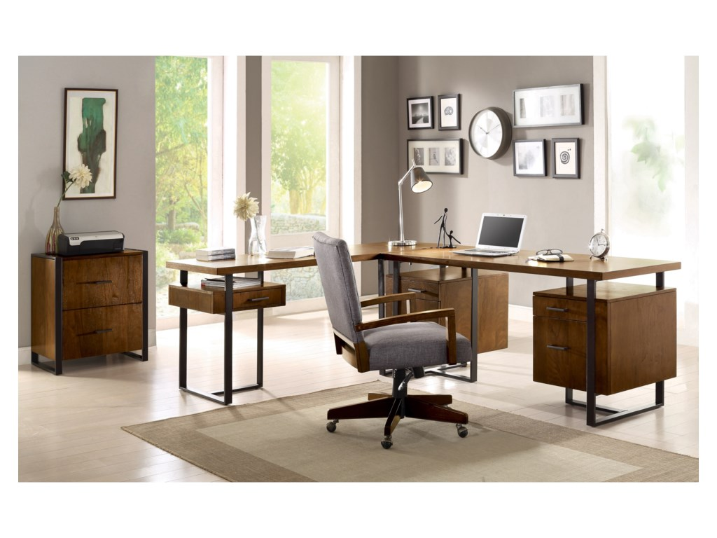 Riverside Furniture Terra VistaDouble Pedestal Desk