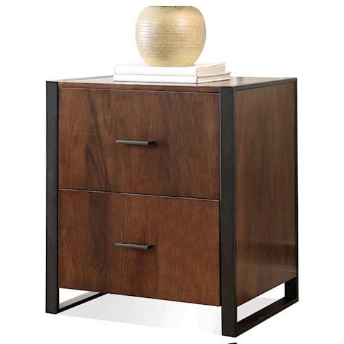riverside furniture terra vista 2 drawer file cabinet   aladdin home 2 drawer file cabinets for the home