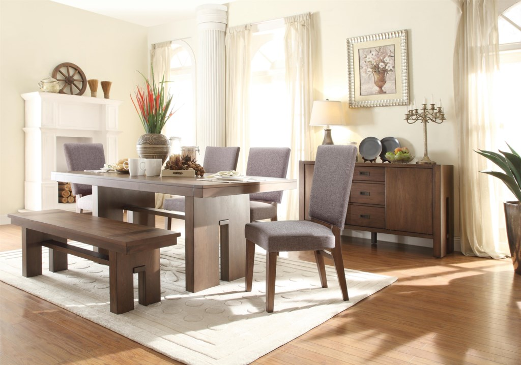 Riverside Furniture Terra Vista Extension Dining Table Darvin