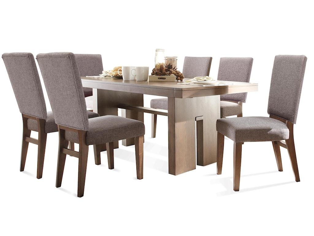 Riverside Furniture Terra Vista5 PC Table & Chair Set