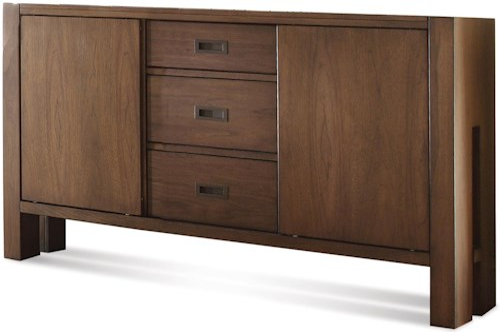 Riverside Furniture Terra Vista Modern Server w/ Drawers
