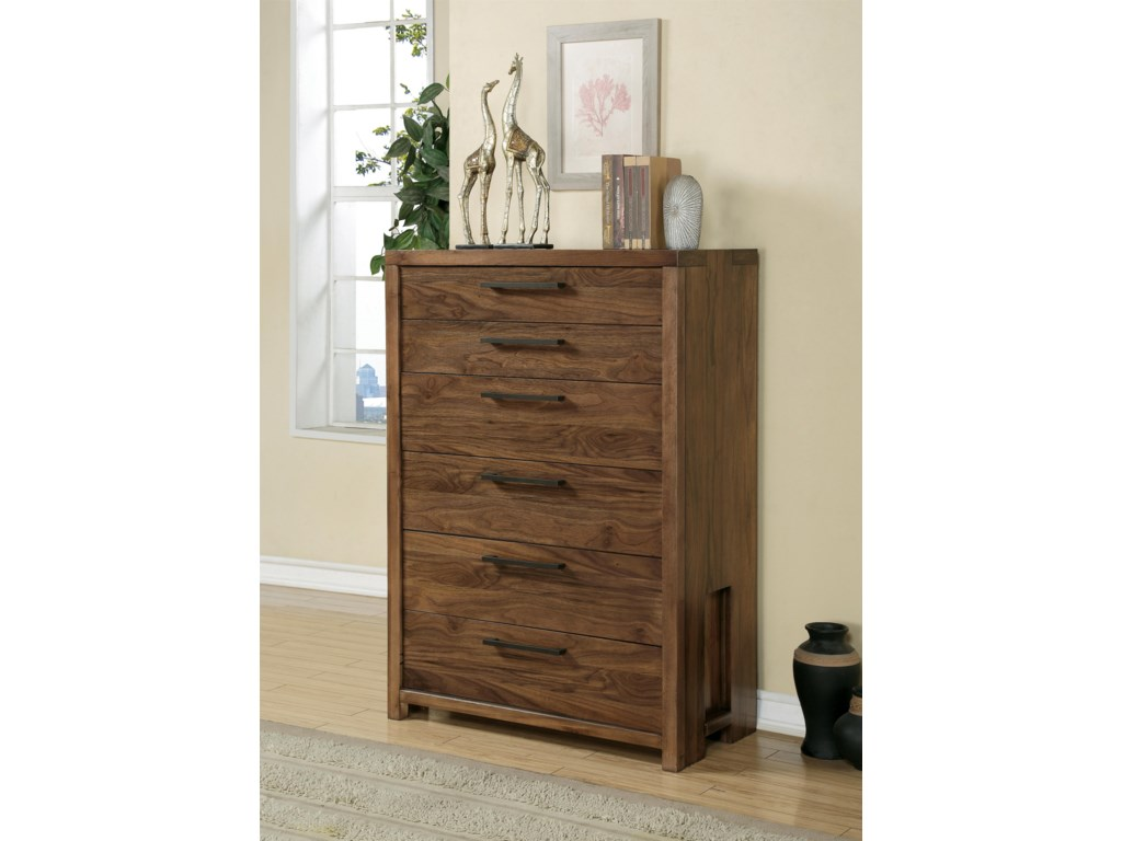 Riverside Furniture Terra VistaSix Drawer Chest
