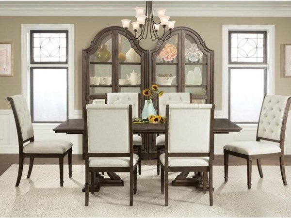 Riverside Furniture Verona Formal Dining Room Group