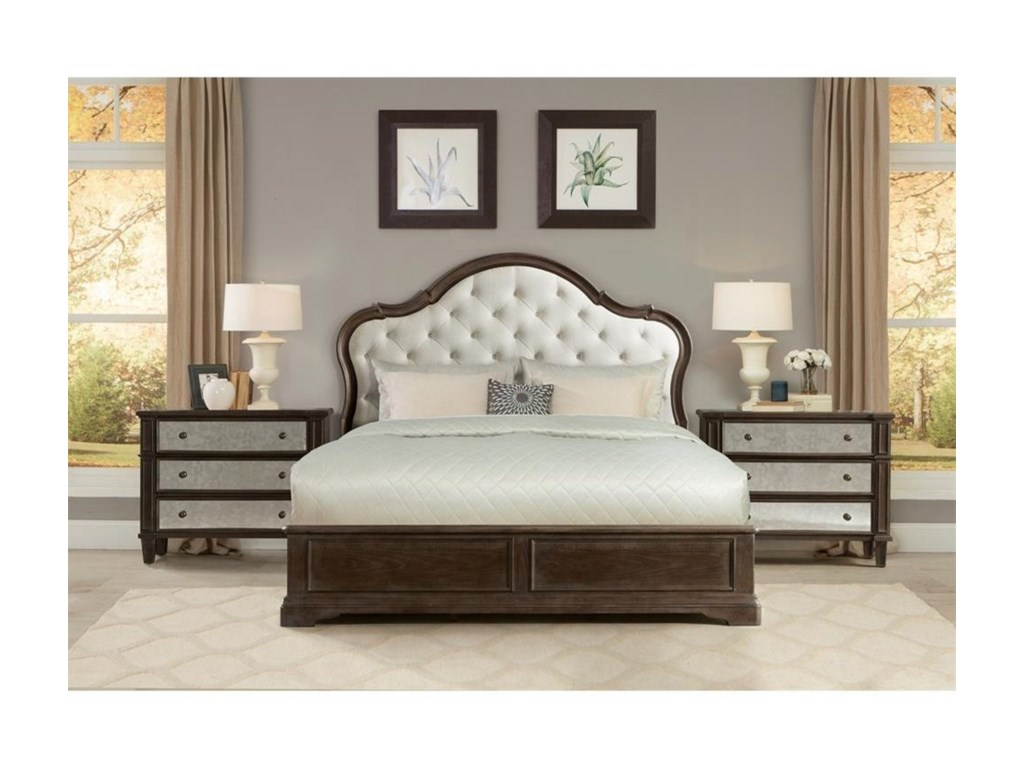 Riverside Furniture VeronaCalifornia King Bedroom Group