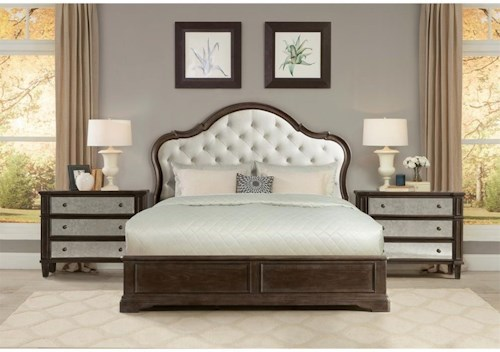 Riverside Furniture Verona California King Bedroom Group