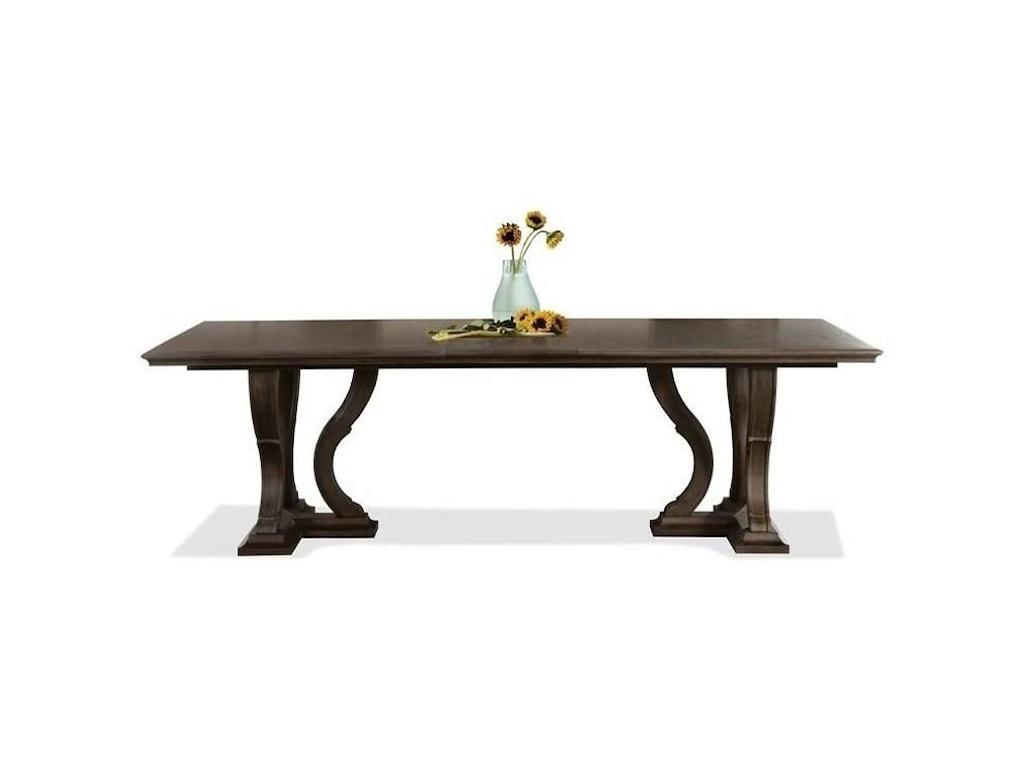 Riverside Furniture Veronatrestle Dining Table