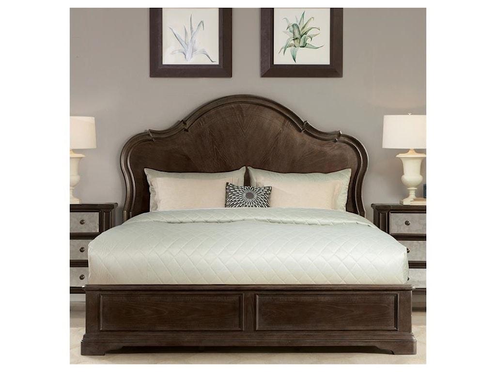 Riverside Furniture VeronaQueen Panel Bed