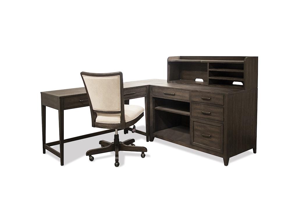 Riverside Furniture VogueCradenza and Hutch
