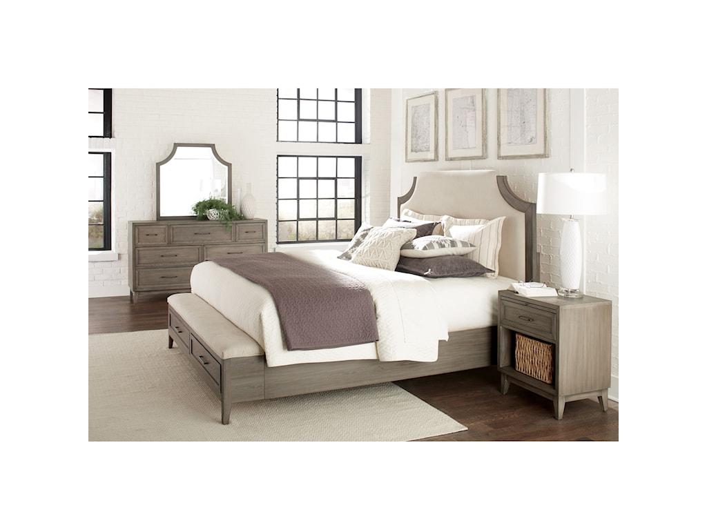 Riverside Furniture VogueQueen Bedroom Group