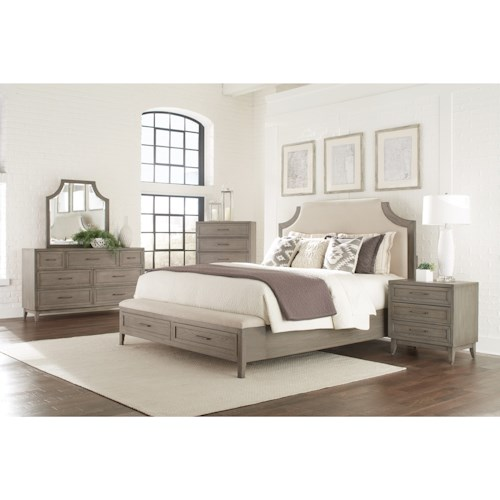 Riverside Furniture Vogue King Bedroom Group 2