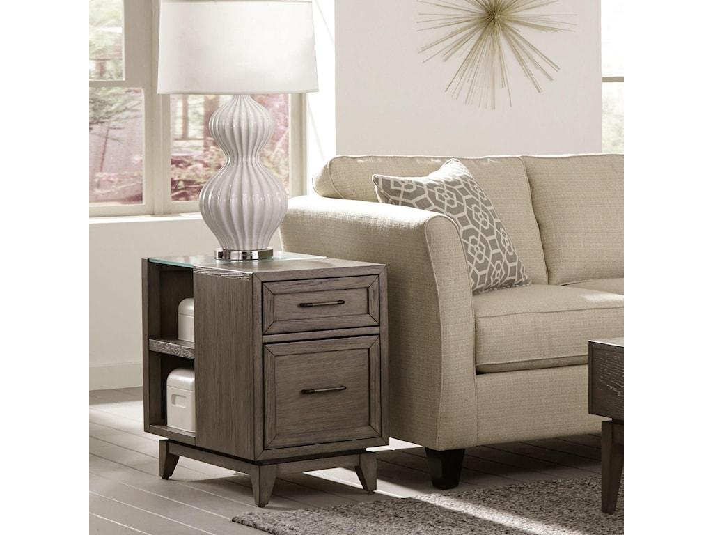 Riverside Furniture VogueChairside Table
