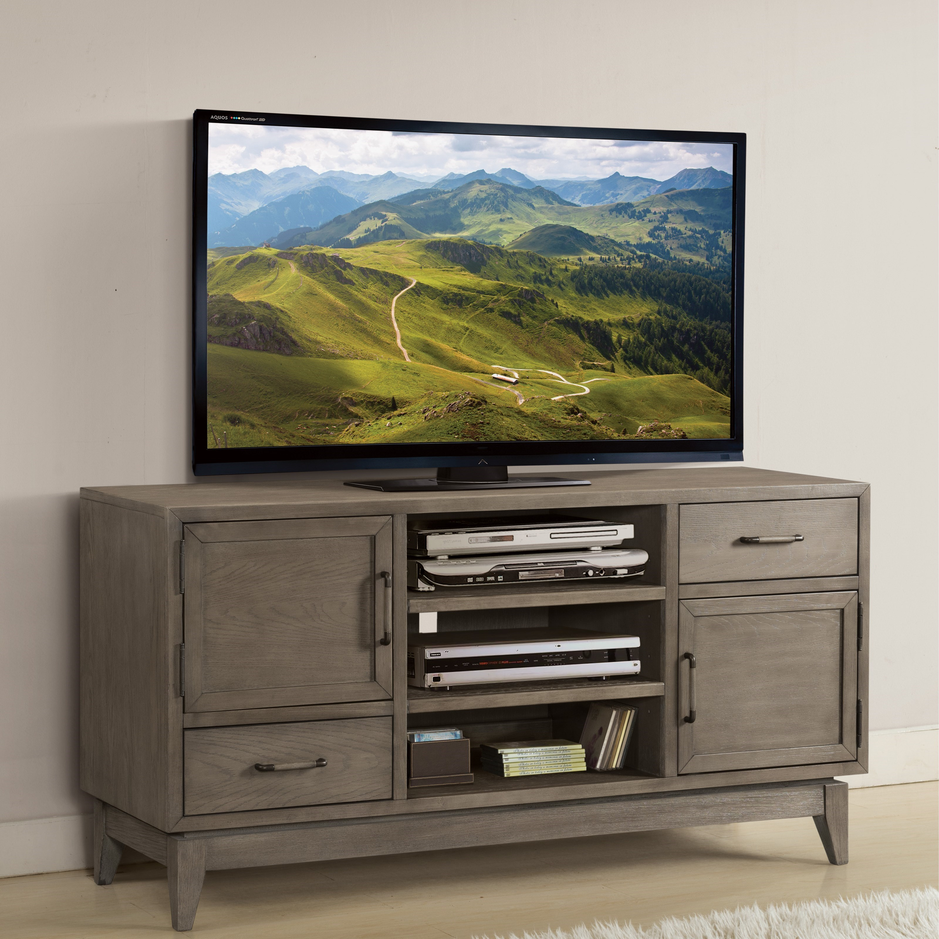 ... Riverside Furniture Vogue54 In TV Console