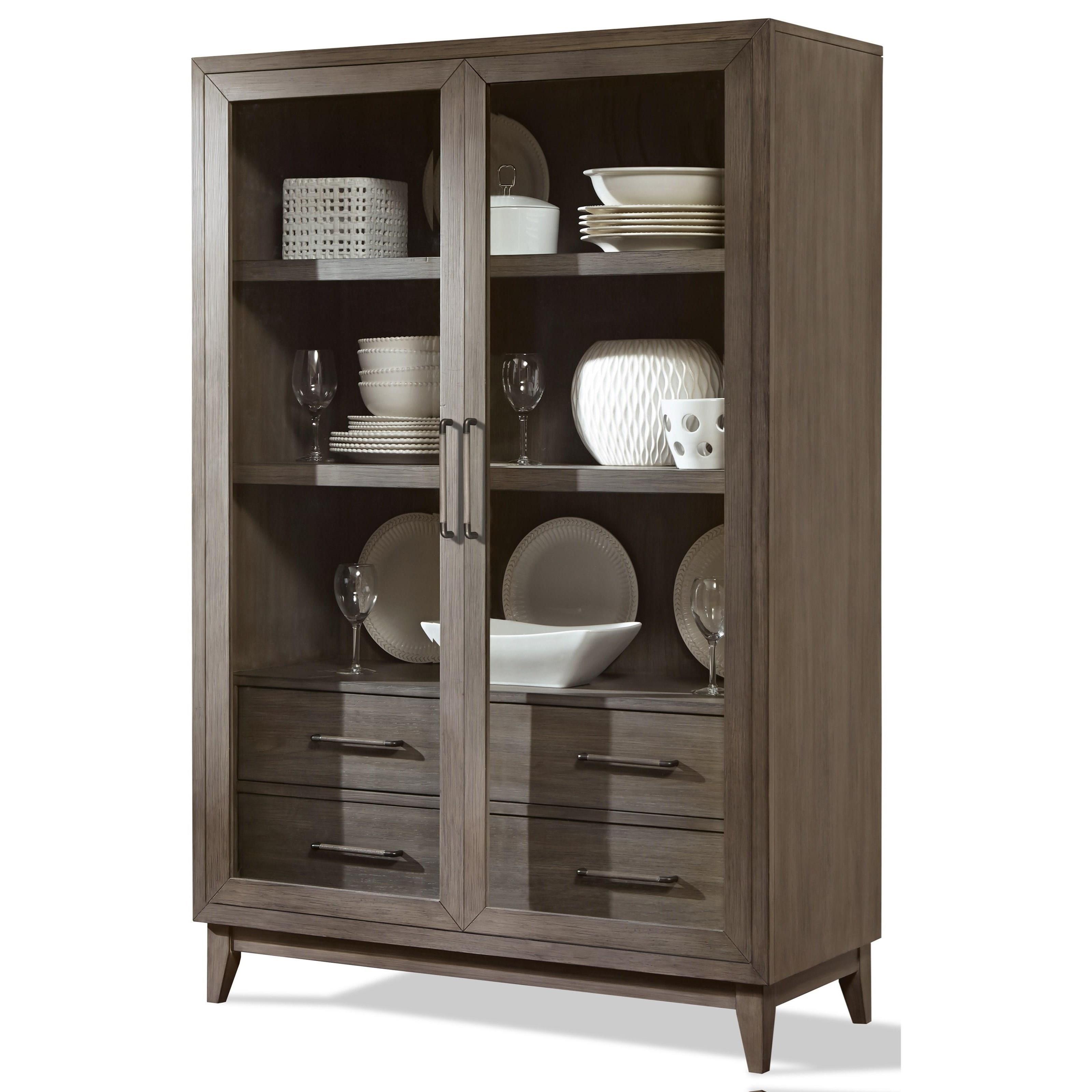 Riverside Furniture Vogue Display Cabinet - Value City Furniture ...
