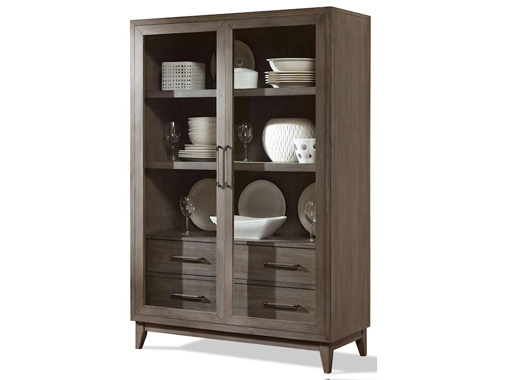 Riverside Furniture VogueDisplay Cabinet