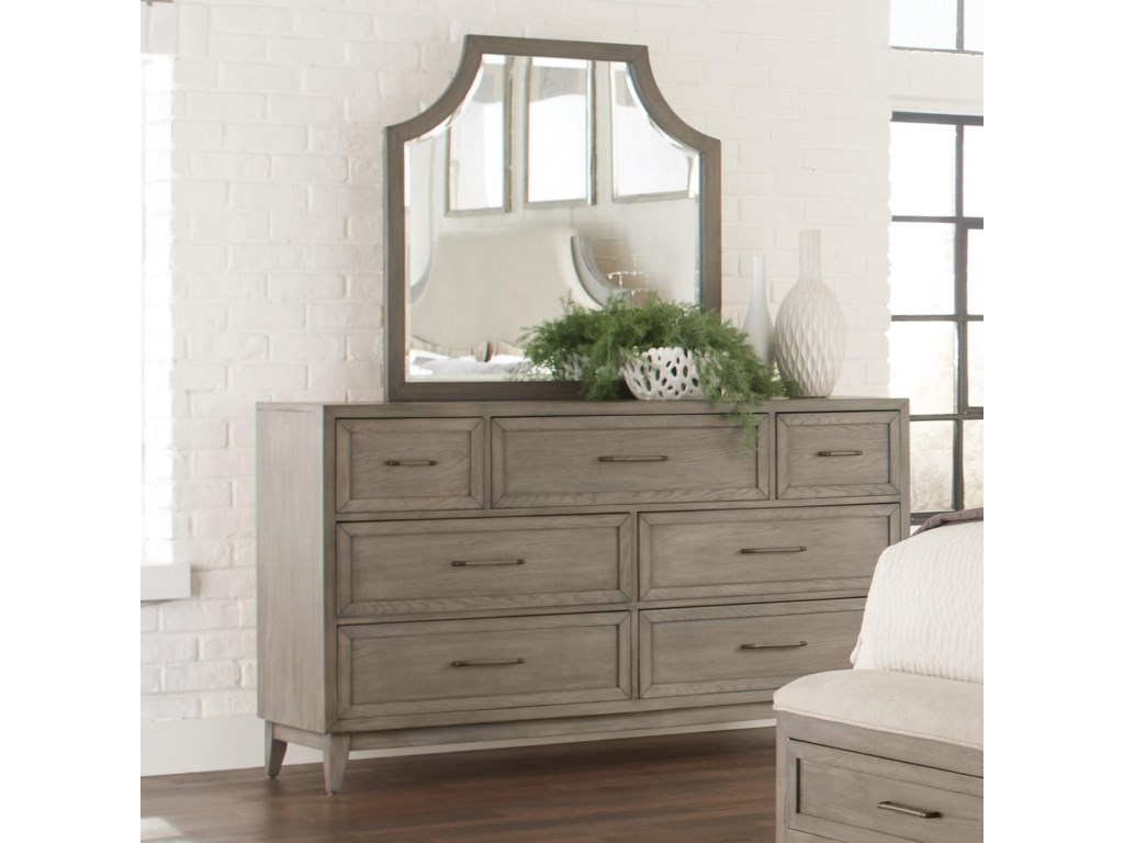 Riverside Furniture VogueArch Mirror