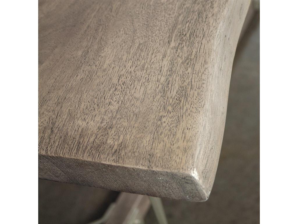 Riverside Furniture WaverlyLive-Edge Dining Table
