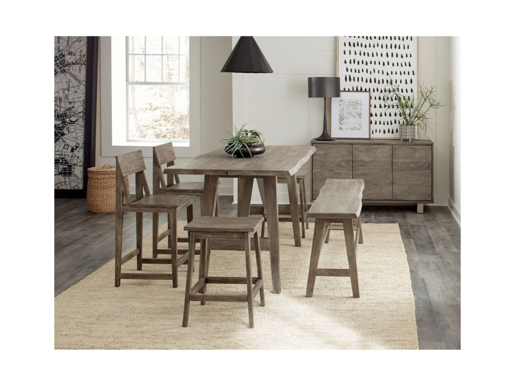 Riverside Furniture WaverlyCounter Height Dining Table
