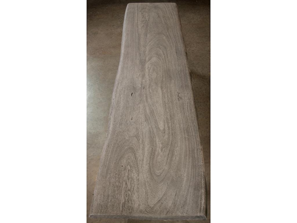 Riverside Furniture WaverlyLive-Edge Dining Bench