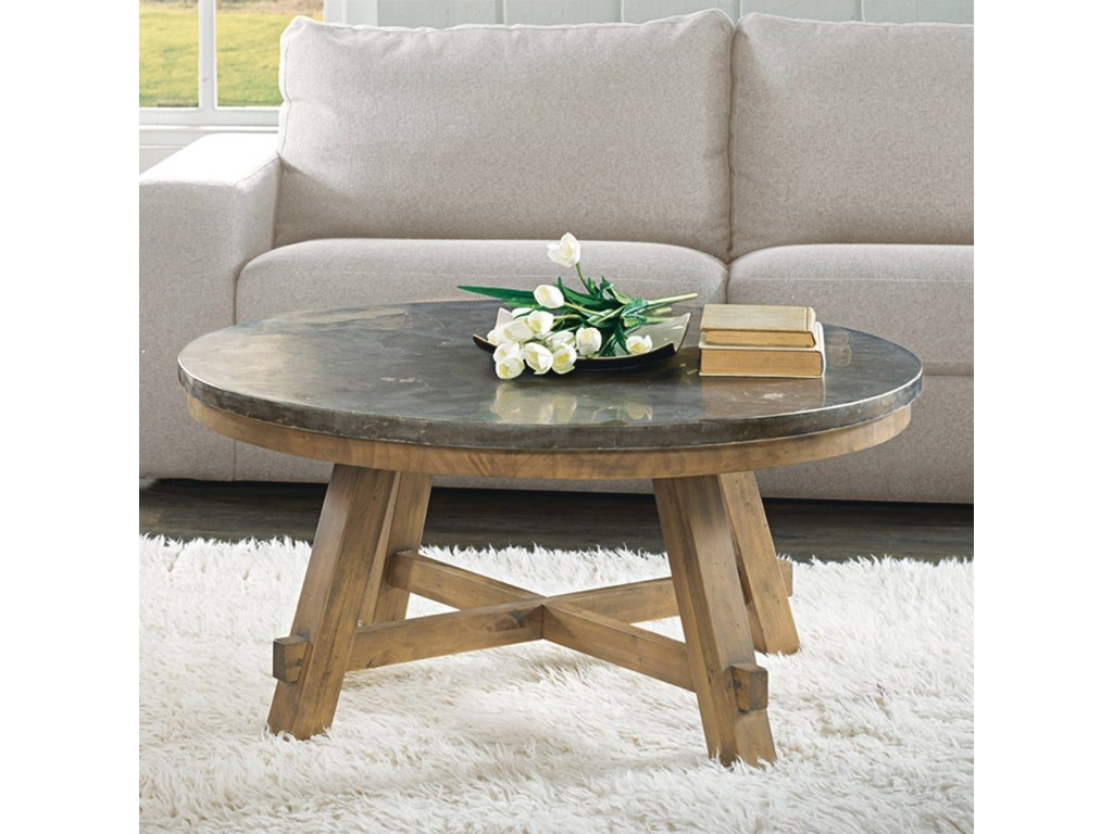 Riverside Furniture WeatherfordRound Cocktail Table