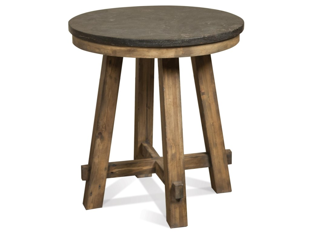 Riverside Furniture WeatherfordRound End Table