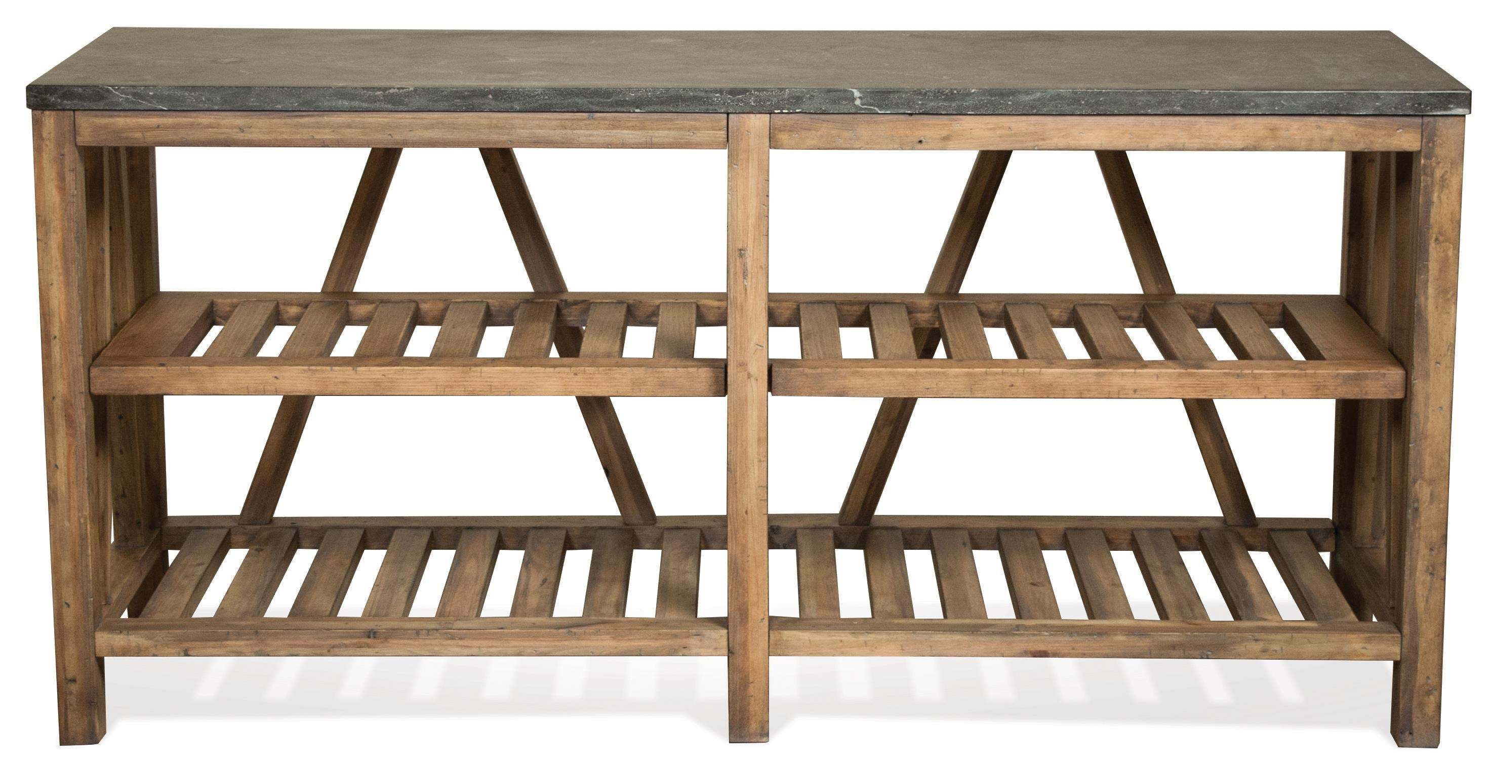 Riverside Furniture WeatherfordSofa Table ...