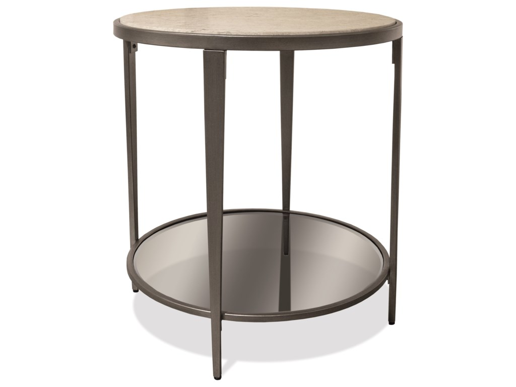 Riverside Furniture WilshireRound End Table