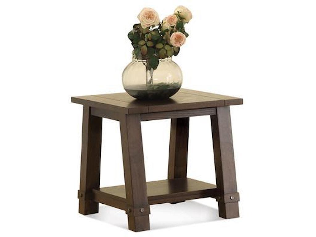 Riverside Furniture Windridge Angle-Leg End Table