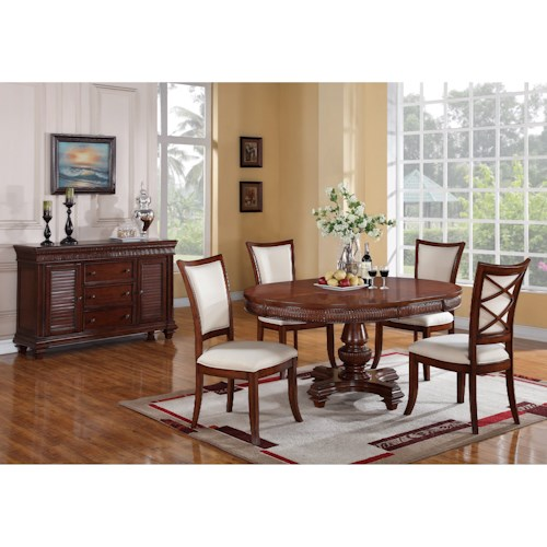 Riverside Furniture Windward Bay Casual Dining Room Group