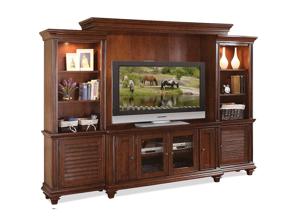 Riverside Furniture Windward BayEntertainment Wall Unit