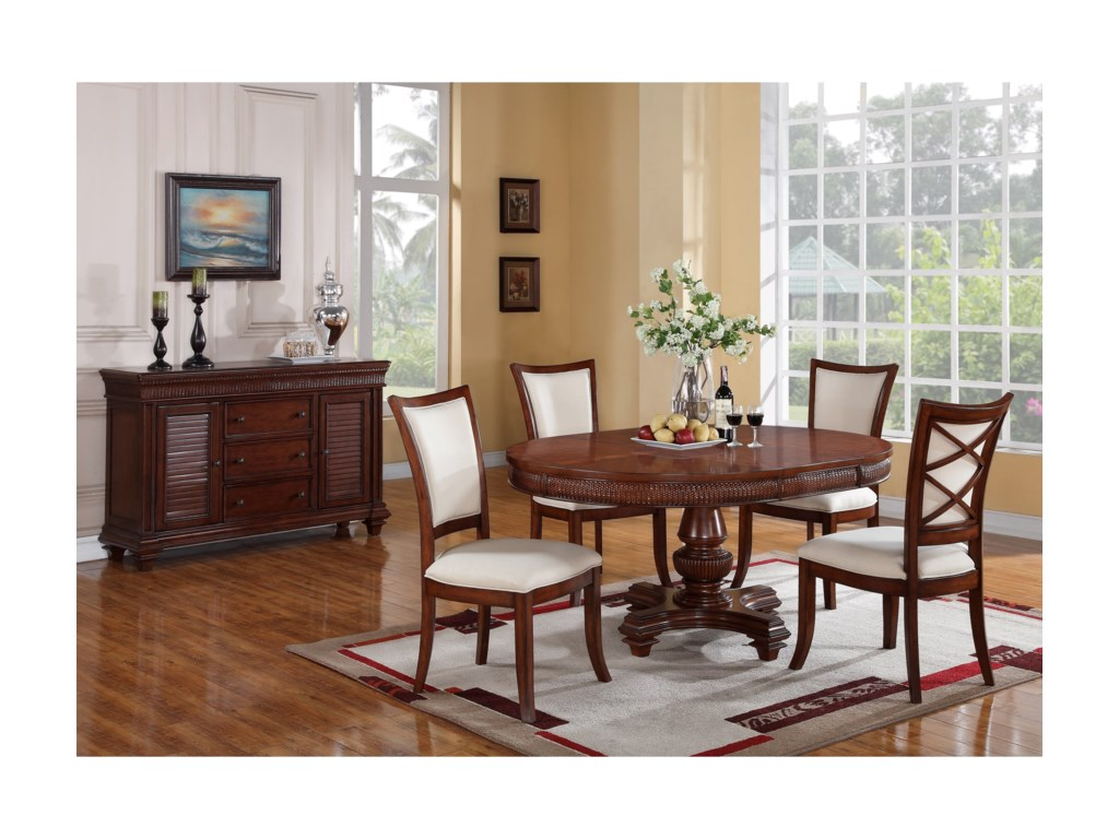 Riverside Furniture Windward BayRound Dining Table