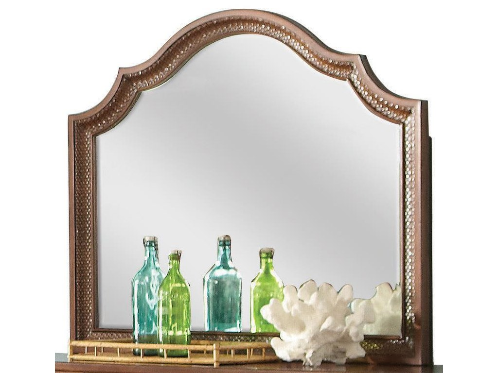 Riverside Furniture Windward BayArch Landscape Mirror