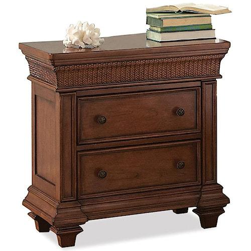 Riverside Furniture Windward Bay 2-Drawer Nightstand