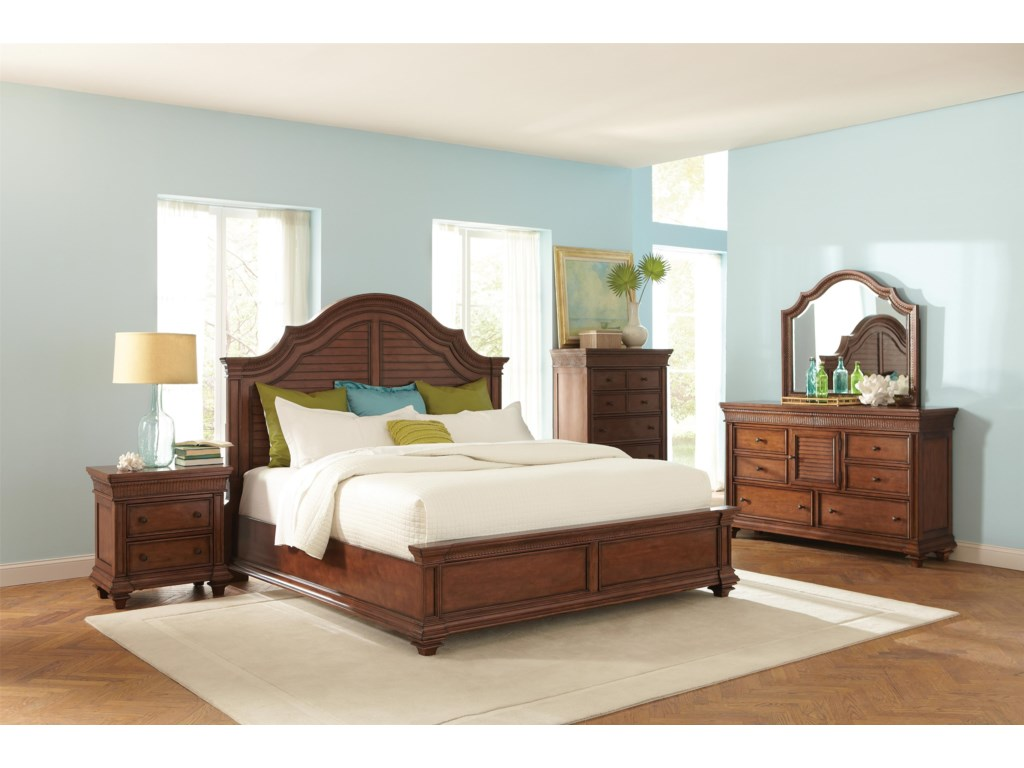 Riverside Furniture Windward BayQueen Arch Bed