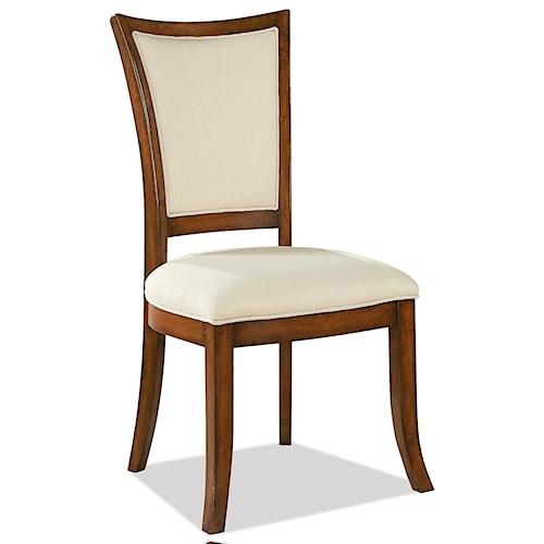 Riverside Furniture Windward Bay XX-Back Upholstered Side Chair