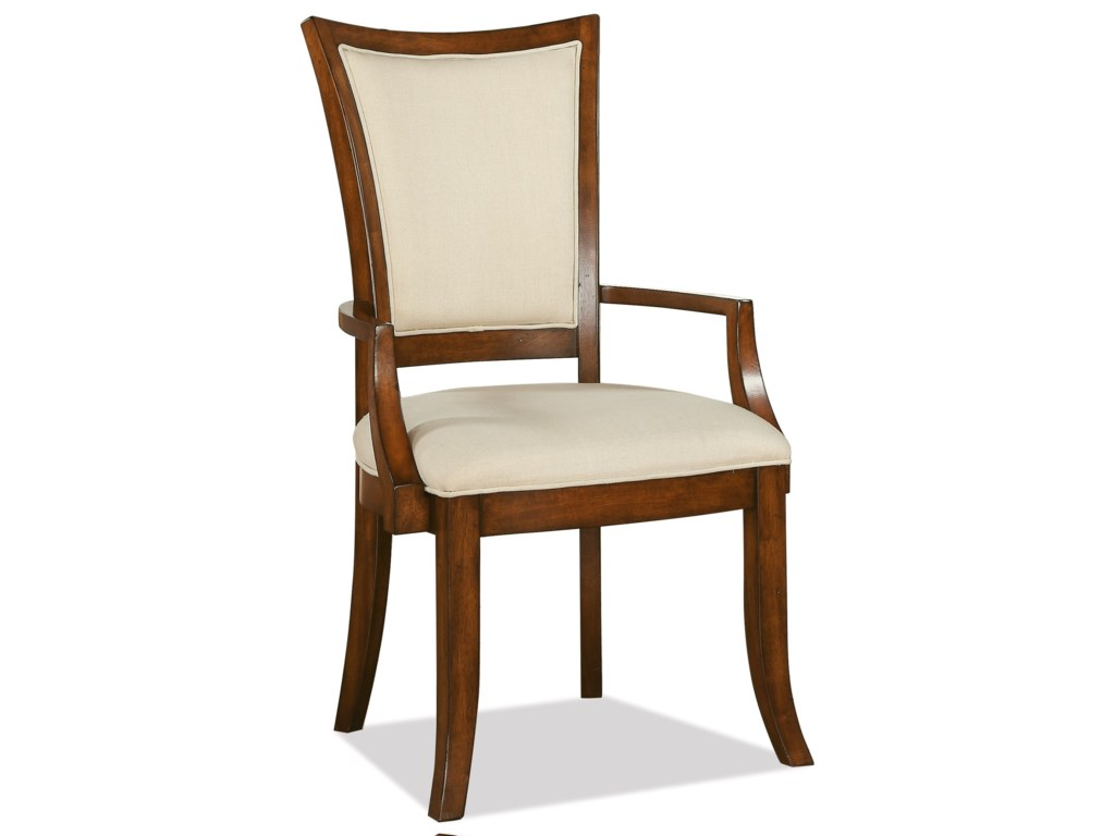 Riverside Furniture Windward BayXX-Back Upholstered Arm Chair
