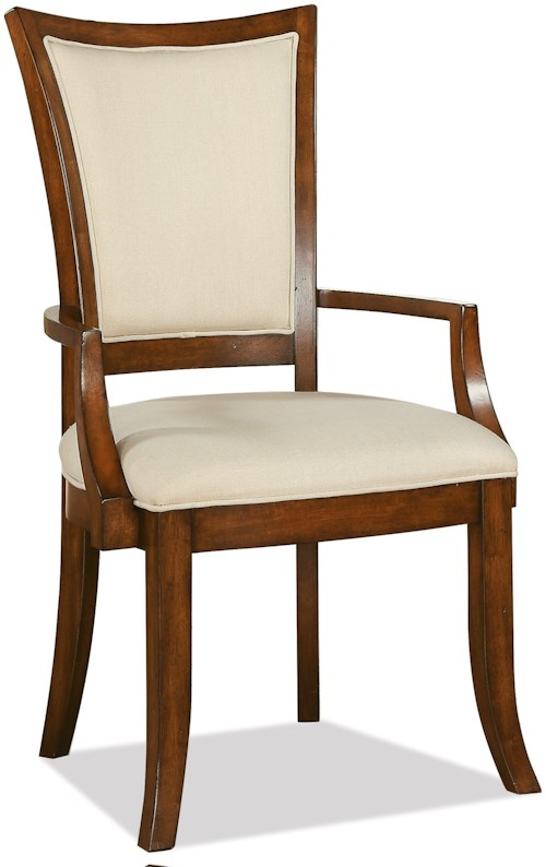 Riverside Furniture Windward Bay XX-Back Upholstered Arm Chair