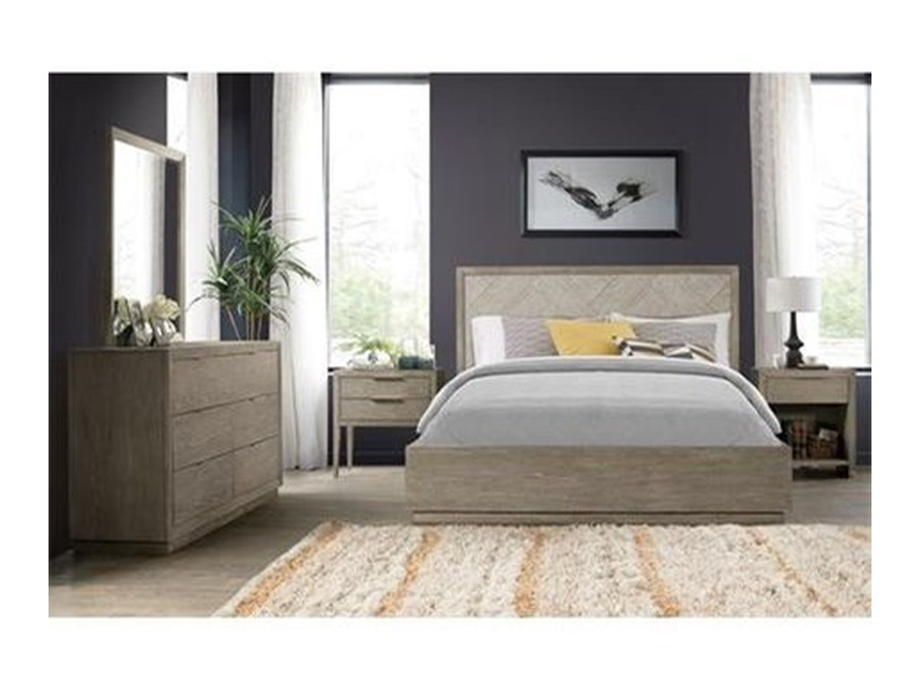 Riverside Furniture ZoeyQueen Single Storage Bed