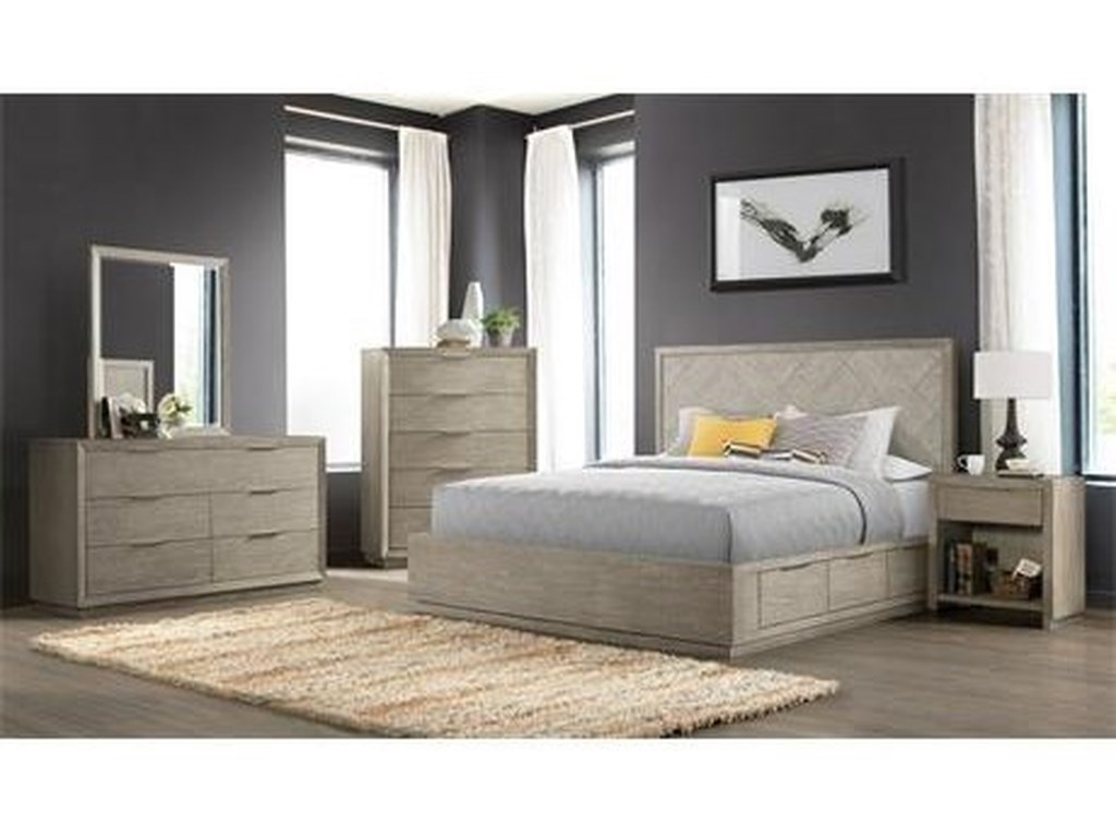 Riverside Furniture ZoeyCalifornia King Single Storage Bed