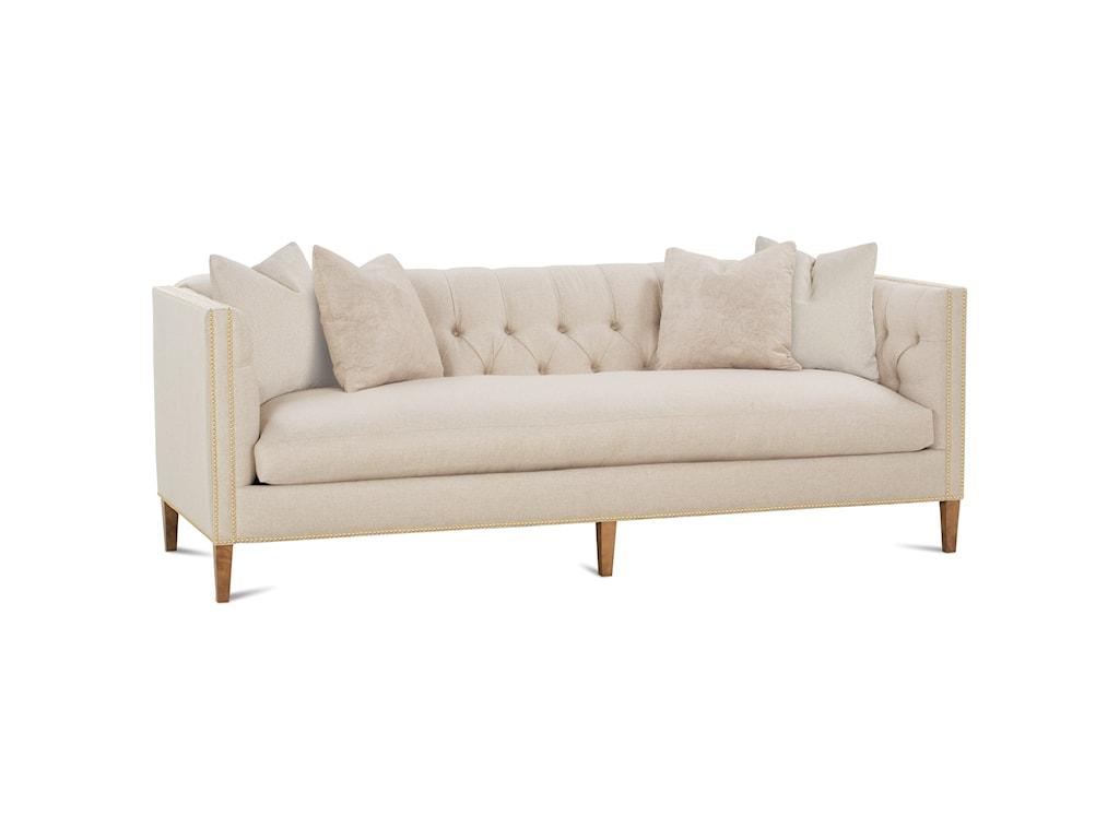 Robin Bruce Brettetuxedo Arm Sofa