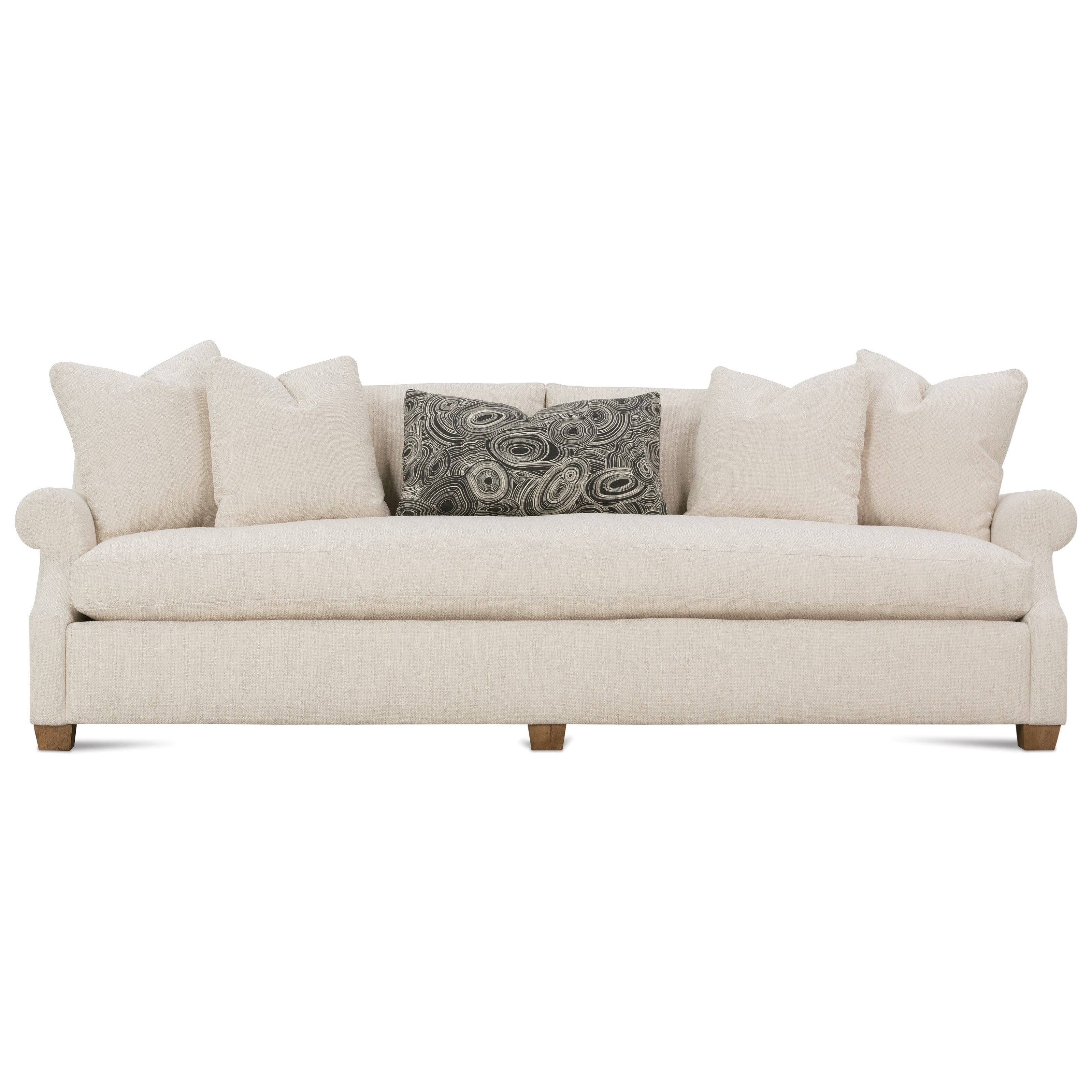 Robin Bruce Bristol Contemporary 98u0027u0027 Sofa With Bench Seat