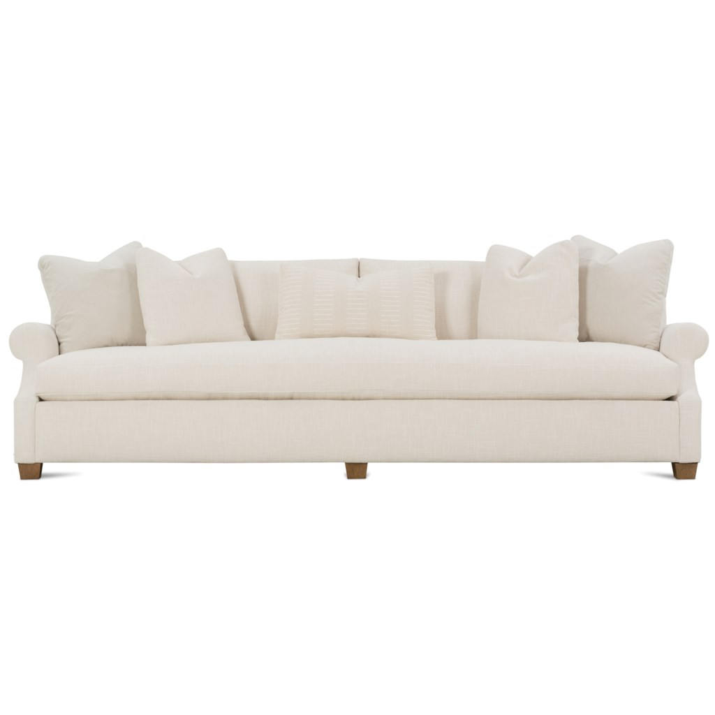 Robin Bruce Bristol Contemporary 110 Sofa With Bench Cushion