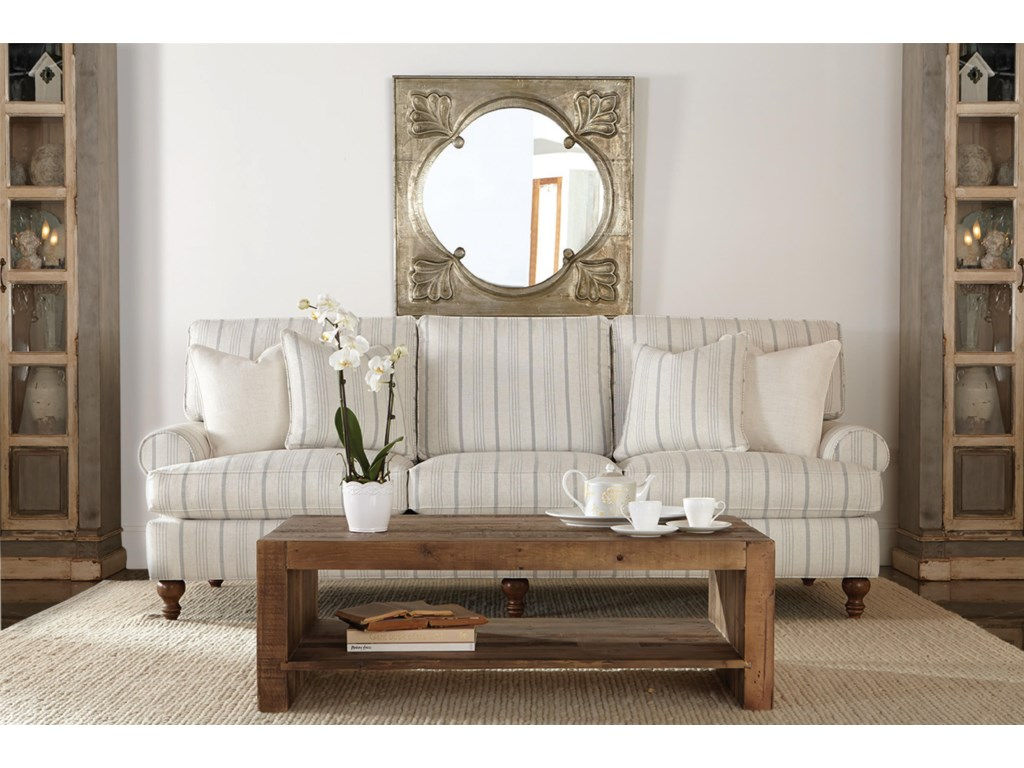 Robin Bruce CindyTraditional Three Seat Sofa
