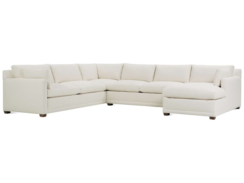 Rb By Rowe Sylvie Customizable 5 Seat Sectional